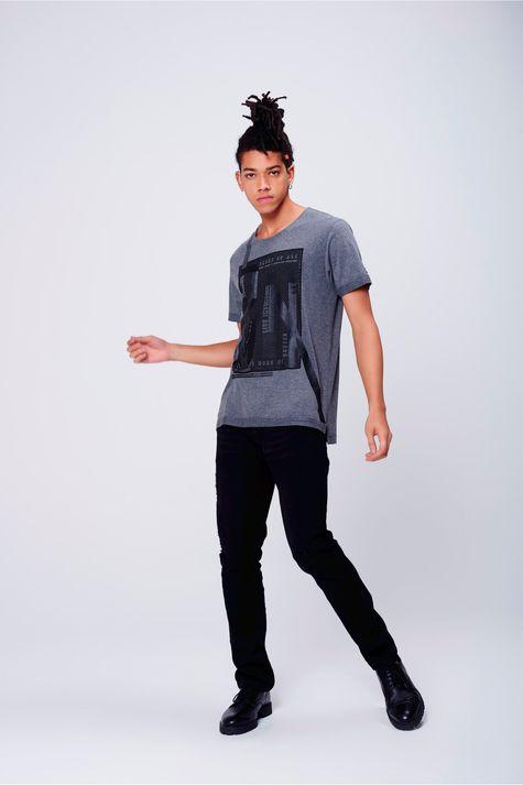 Camiseta-Cinza-Mescla-Estampada-Frente--