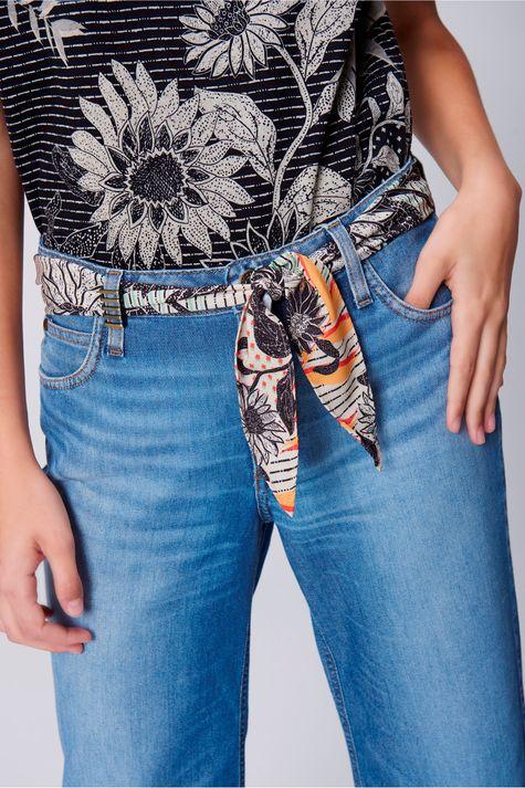 Pantacourt-Jeans-Cinto-de-Lenco-Feminina-Frente-1--