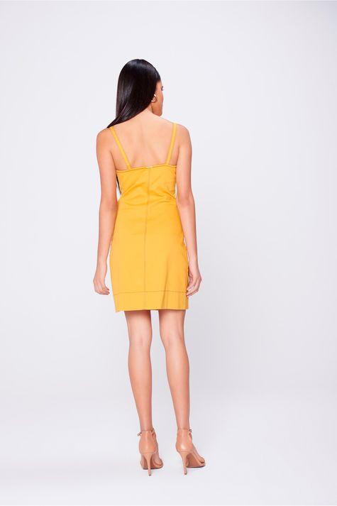Vestido-Color-com -Recorte-e-Botoes-Costas--
