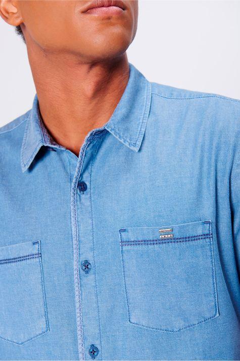 Camisa-Jeans-Masculina-Bolsos-Frontais-Frente--