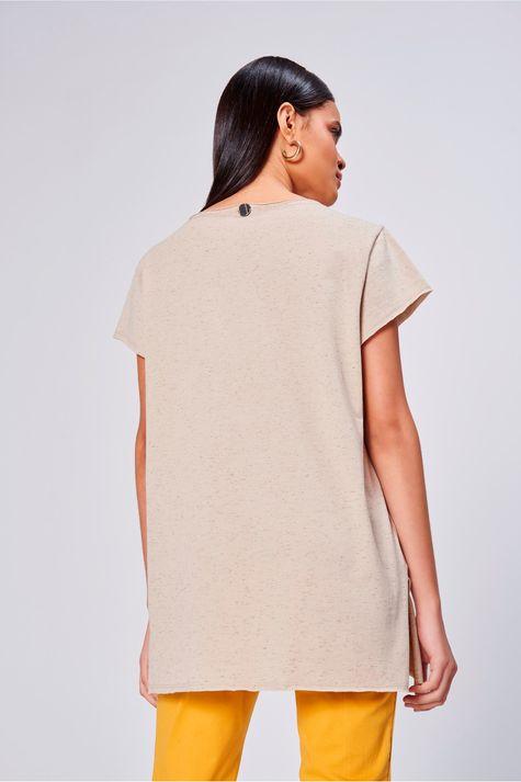 Camiseta-Feminina-Alongada-Girassol-Costas--