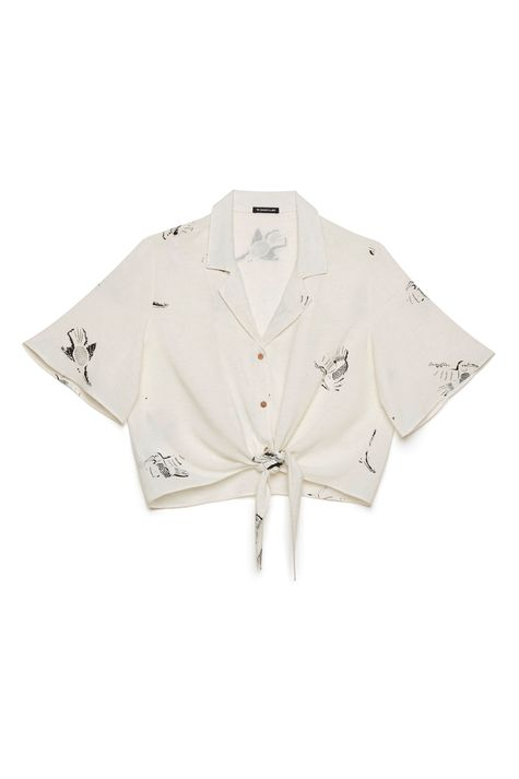 Camisa-Feminina-com-Amarracao-Frente--