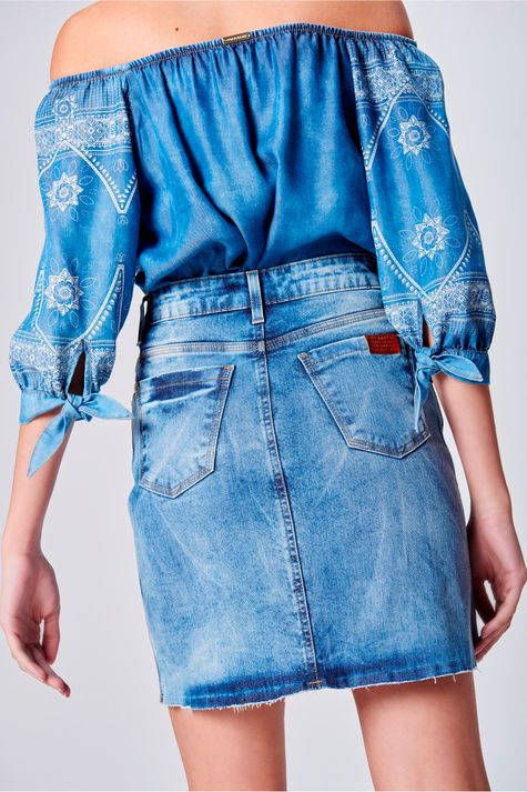Saia-Jeans-Cintura-Alta-Feminina-Costas--