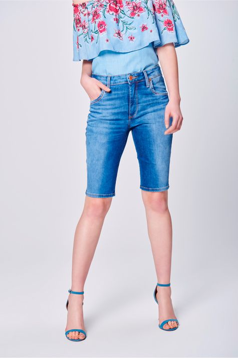 Bermuda-Jeans-Feminina-Cintura-Alta-Frente--