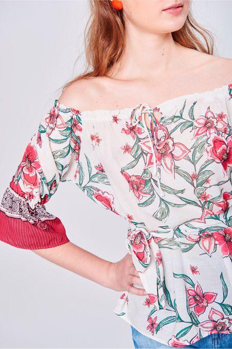 Bata-Ombro-a-Ombro-Estampa-Floral-Frente--