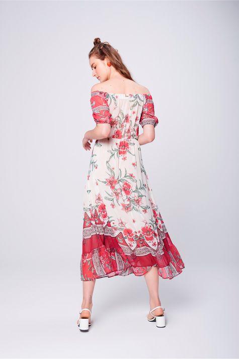 Vestido-Longo-Fluido-com-Estampa-Floral-Costas--