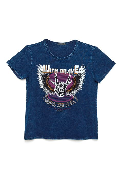 Camiseta-Denim-Estampa-Wings-Feminina-Frente--