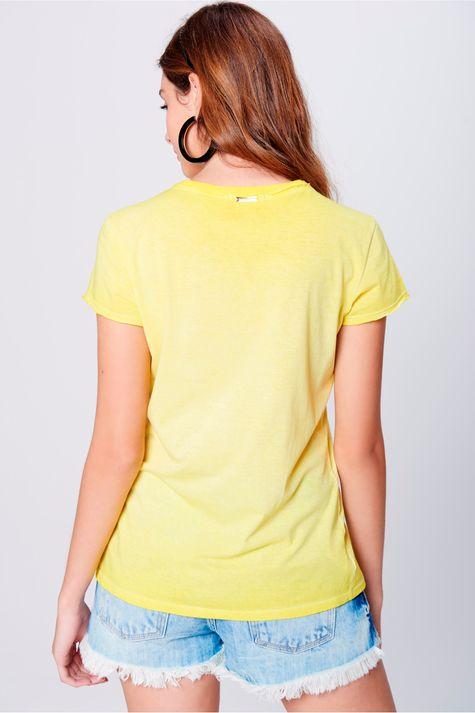 Camiseta Estampa Frontal Feminina - Damyller ddece3657dfe7