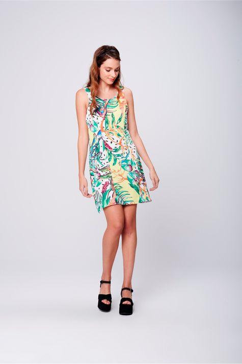 Vestido-Curto-Estampa-Floral-Frente--