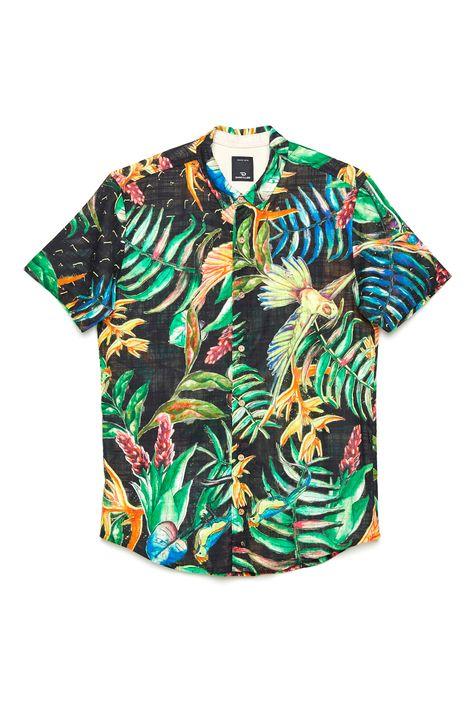 Camisa-com-Estampa-Floral-Unissex-Frente--