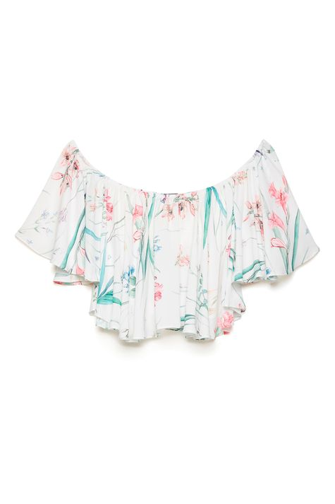 Blusa-Cropped-Ombro-a-Ombro-Floral-Detalhe-Still--