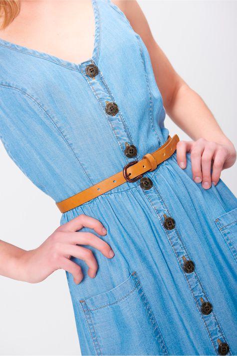 Vestido-Longo-Jeans-com-Cinto-Frente--