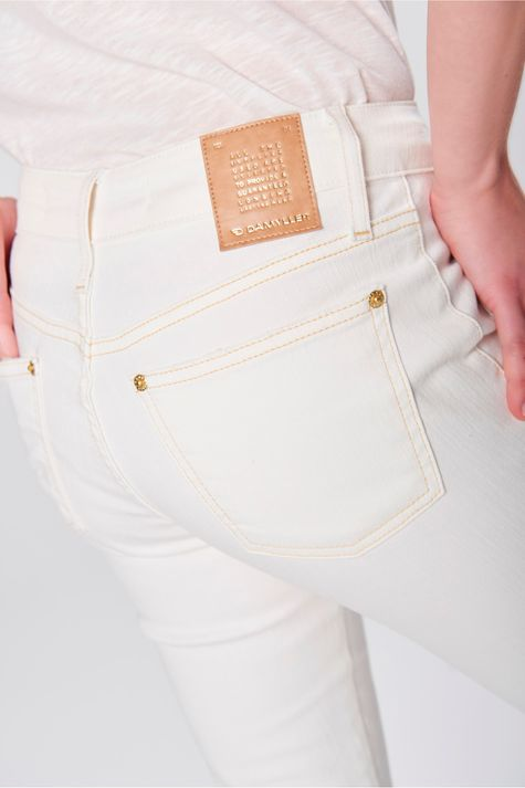 Calca-Jegging-Cropped-Color-com-Bolsos-Frente--