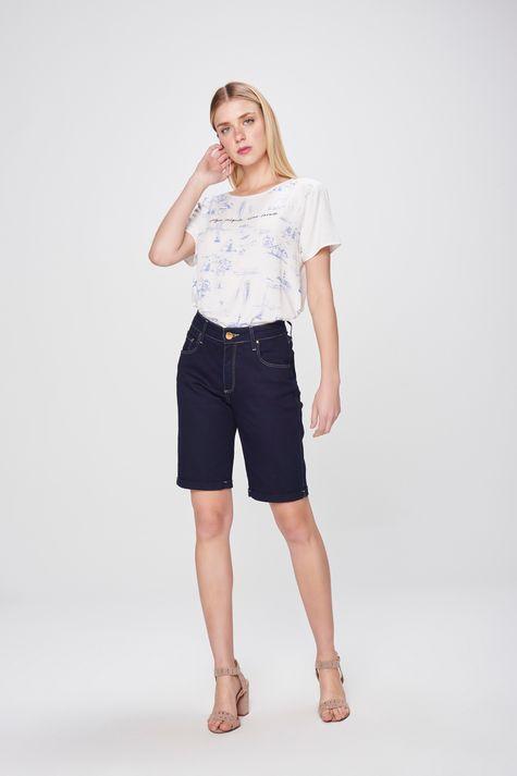 Bermuda-Jeans-Cintura-Alta-Feminina-Frente--