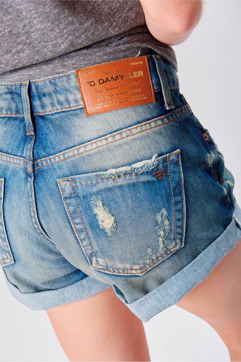 Short-Jeans-Boyfriend-com-Puidos-Frente--