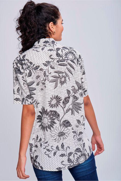 Camisa-Unissex-Estampa-Floral-Costas--