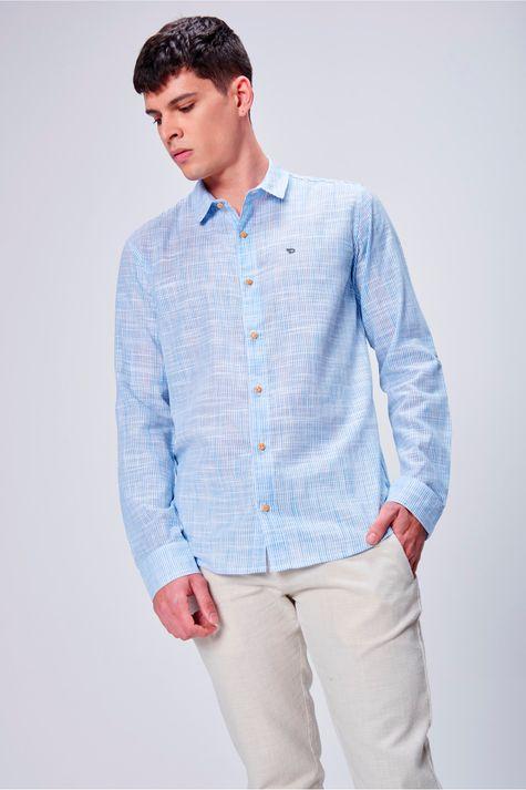 Camisa-Listrada-Masculina-Frente--