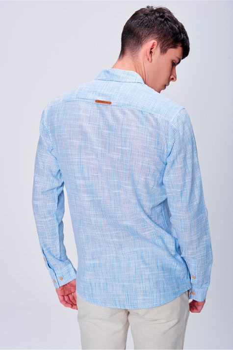 Camisa-Listrada-Masculina-Costas--