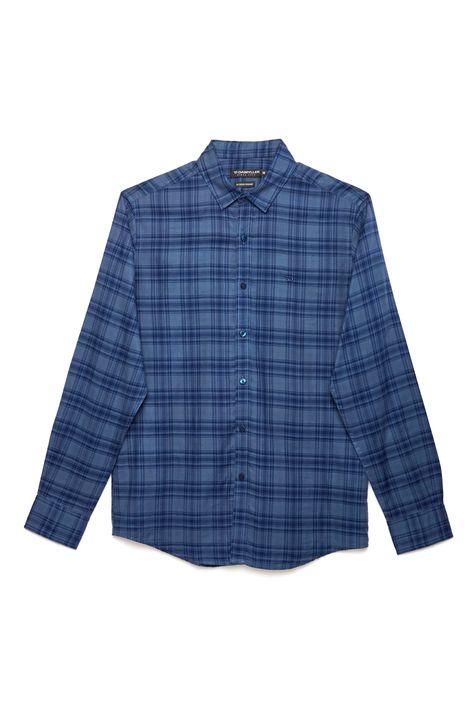 Camisa-Social-Xadrez-Masculina-Frente--