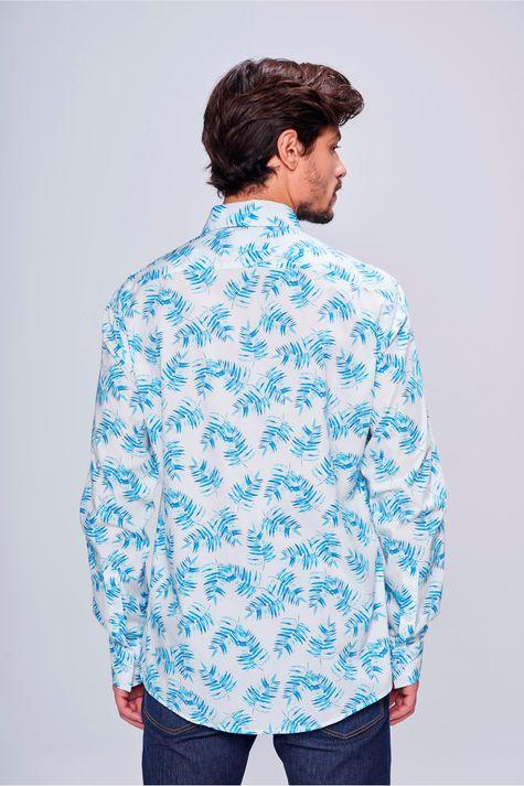 Camisa-Social-Estampada-Masculina-Costas--