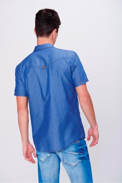 Camisa-Jeans-de-Manga-Curta-Masculina-Costas--