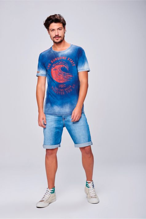 Camiseta-Estampada-Tingida-Masculina-Frente--