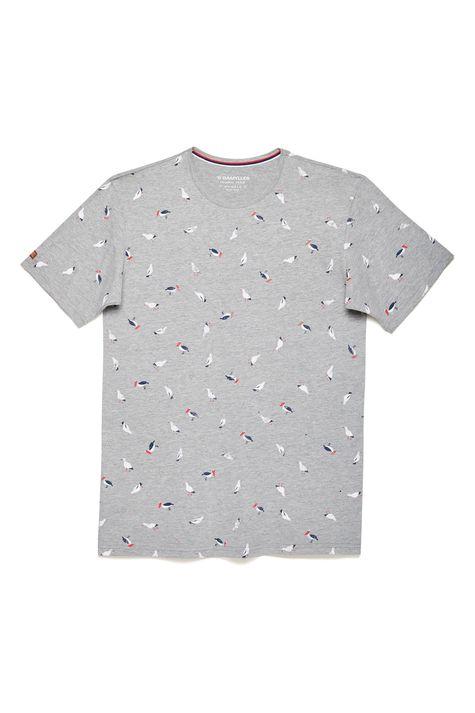 Camiseta-Mescla-Estampada-Masculina-Frente--