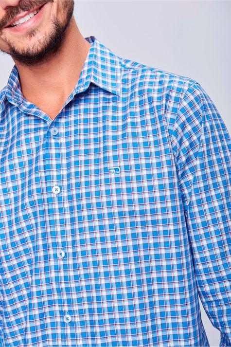 Camisa-Social-Xadrez-de-Algodao-Peruano-Detalhe--