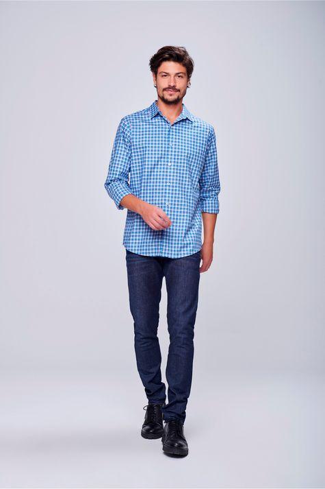 Camisa-Social-Xadrez-de-Algodao-Peruano-Detalhe-1--
