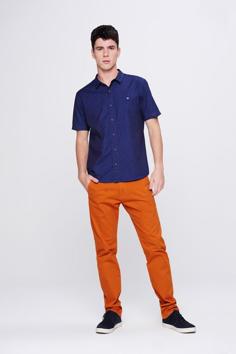 Camisa-Jeans-de-Poa-Masculina-Frente--