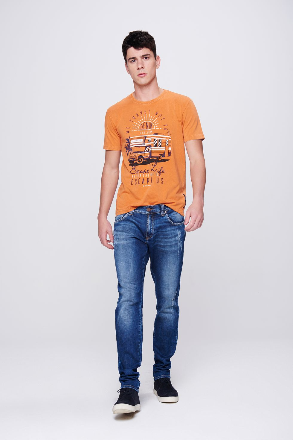 Calca-Skinny-Jeans-com-Puidos-Masculina-Frente--