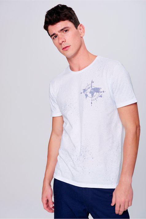 Camiseta-com-Respingos-Masculina-Frente--