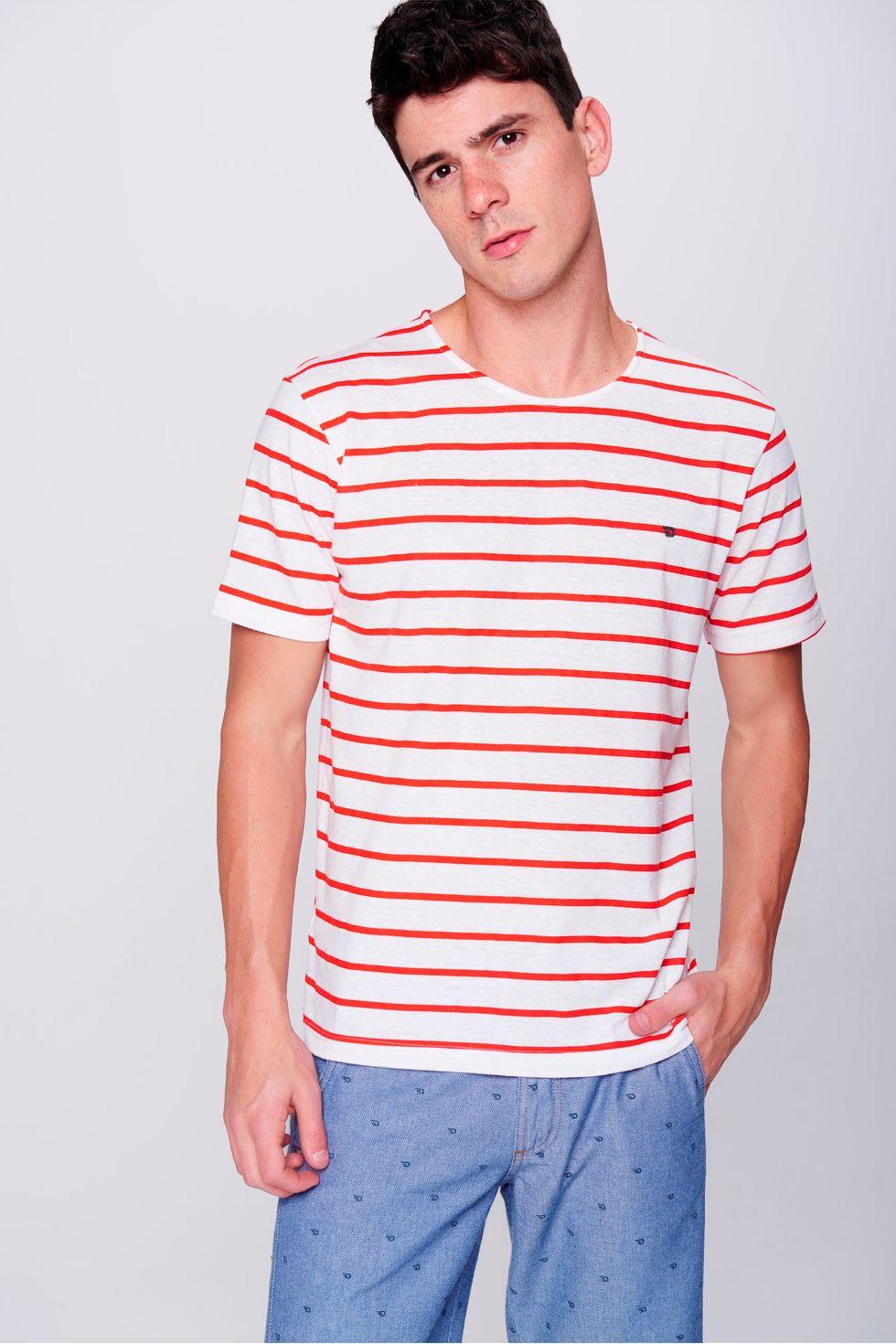 Camiseta-Basica-Listrada-Masculina-Frente--