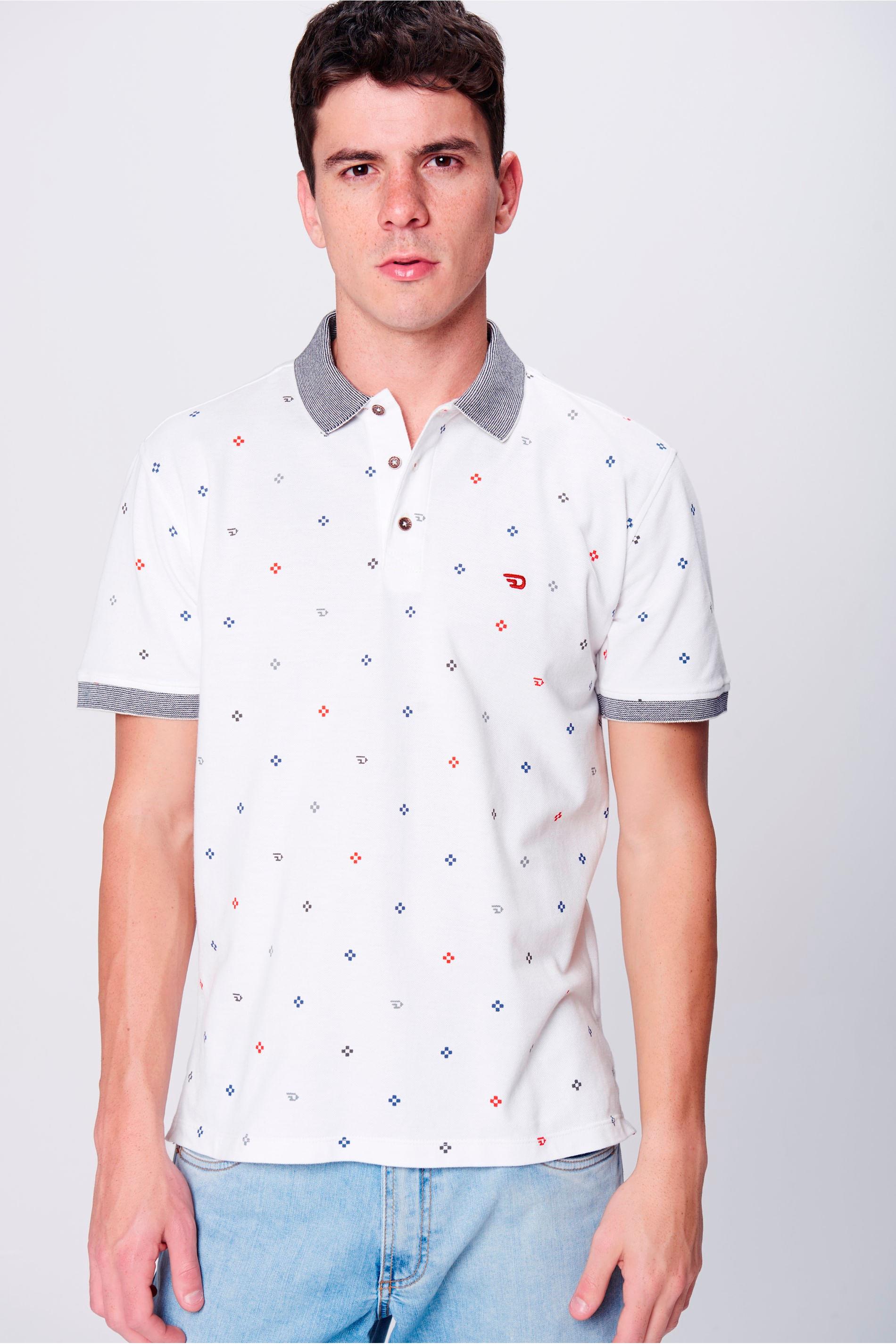 Look Elegante Camisa Gola Polo - Damyller 24b935a07f94e