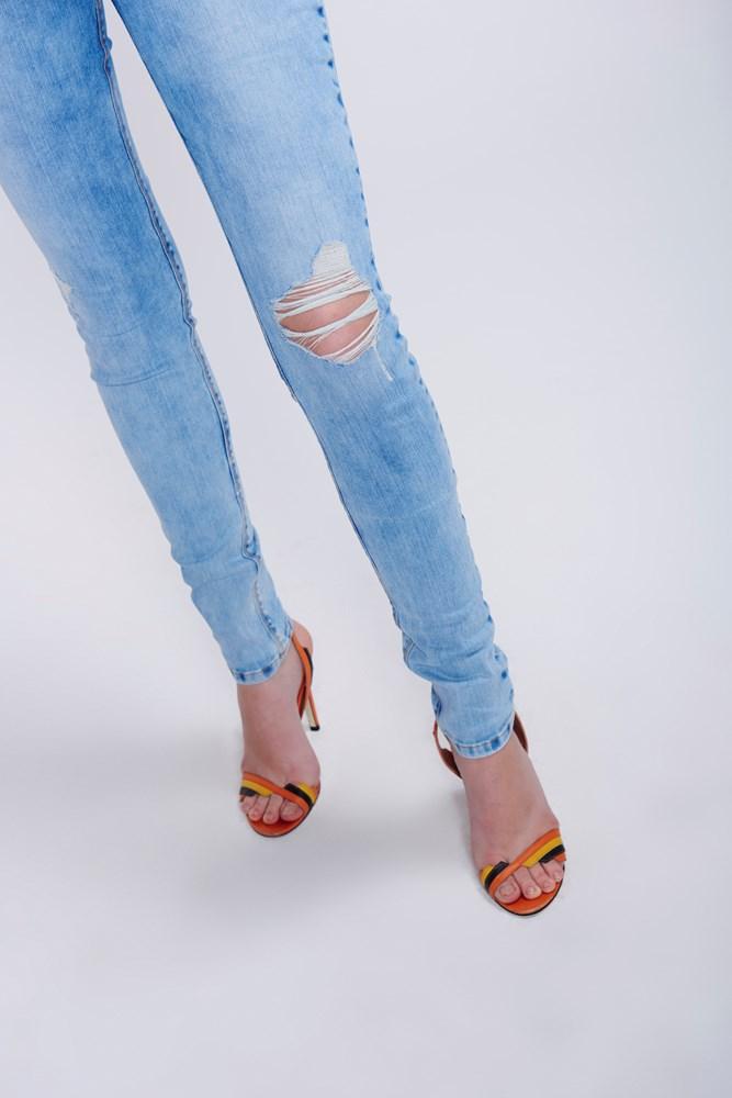 Calça Skinny Damyller - Banner - costas
