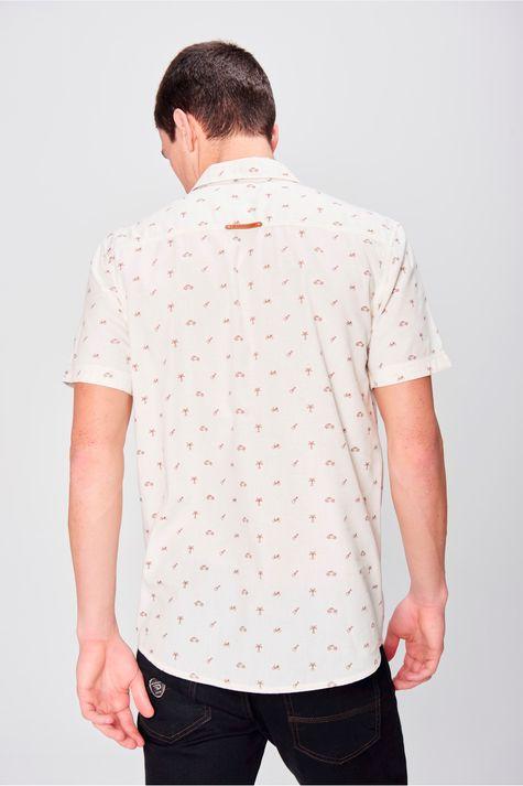 Camisa-Manga-Curta-Estampada-Masculina-Costas--