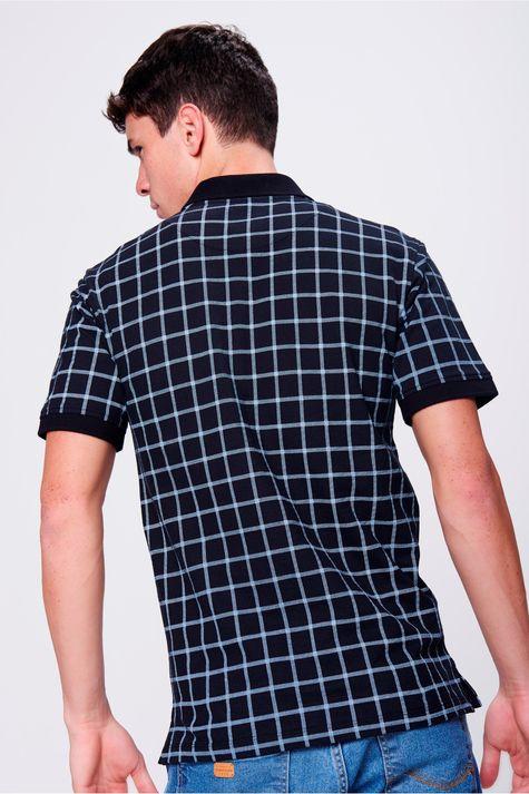Camisa-Gola-Polo-Fit-Xadrez-Masculina-Costas--