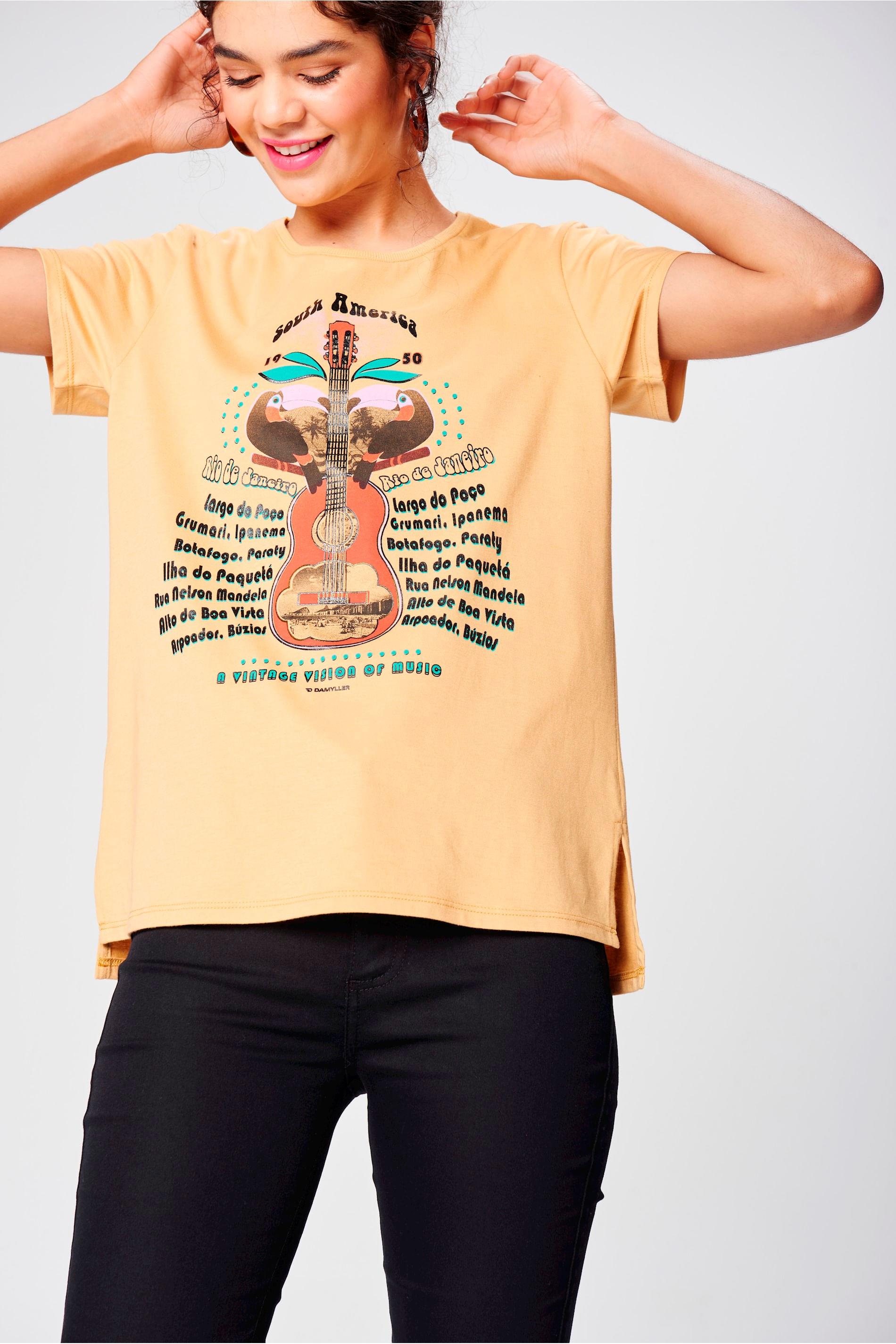 e30cd9019f Camisa de Malha Sustentável Feminina - Damyller