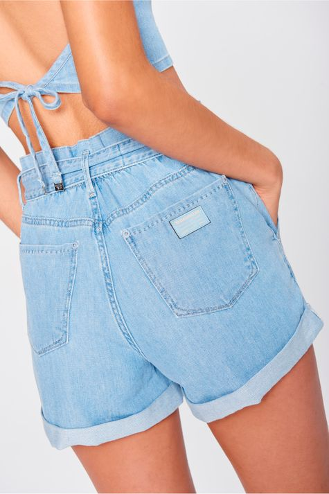 Short-Jeans-Mini-Clochard-Cintura-Alta-Costas--