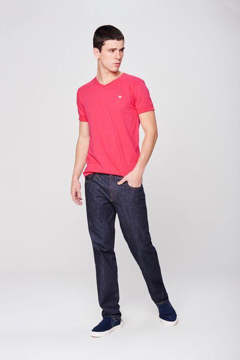 Calca-Masculina-Reta-Basica-Jeans-Frente--