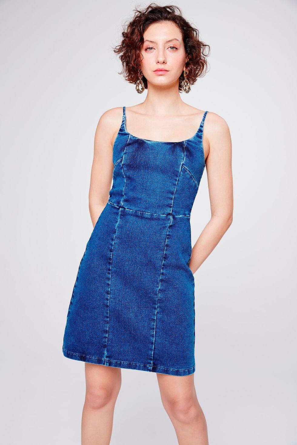Vestido-Jeans-com-Recortes-Frente--