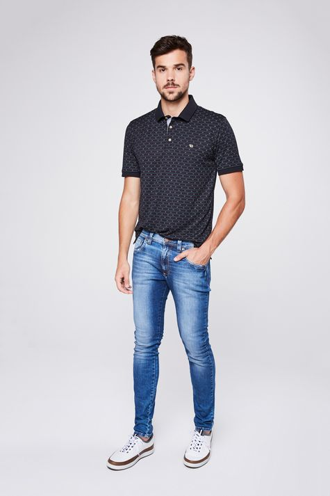 0814b070676 Calça Jeans Masculina  Tradicional