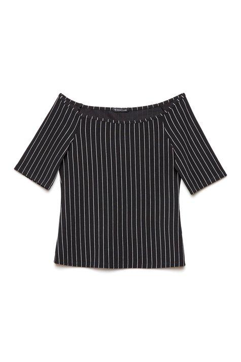 Blusa-Ombro-a-Ombro-Listrada-Feminina-Frente--