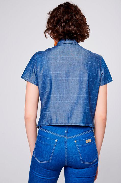 Camisa-Jeans-Xadrez-com-Amarracao-Costas--