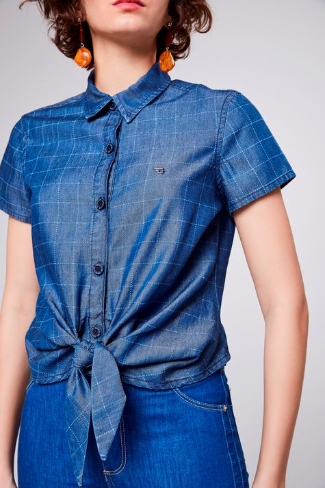 Camisa-Jeans-Xadrez-com-Amarracao-Detalhe-1--