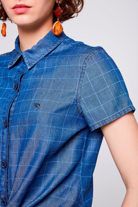 Camisa-Jeans-Xadrez-com-Amarracao-Detalhe--