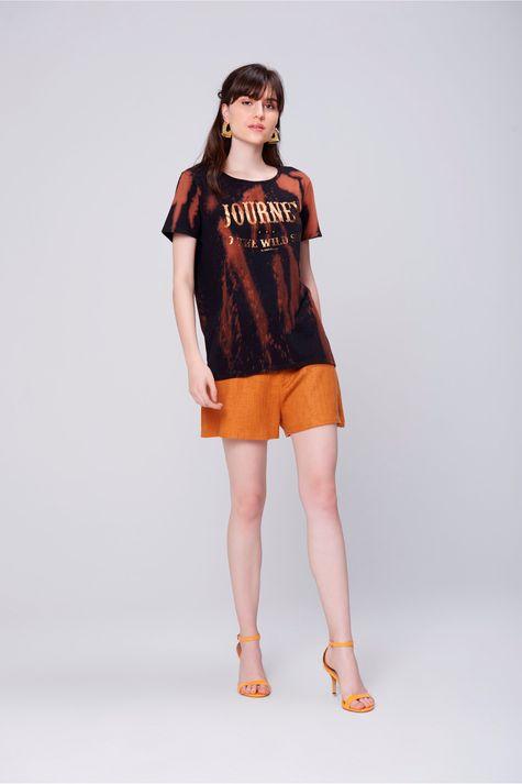 Camiseta-Tingida-Estampada-Feminina-Frente--