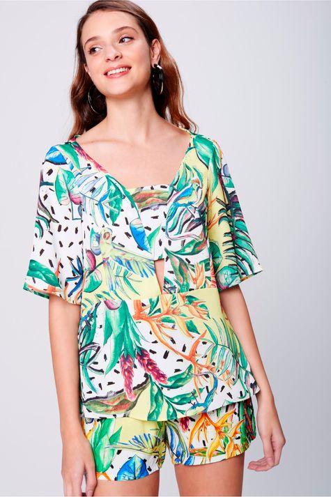 Blusa-Estampa-Floral-Abertura-no-Decote-Frente--