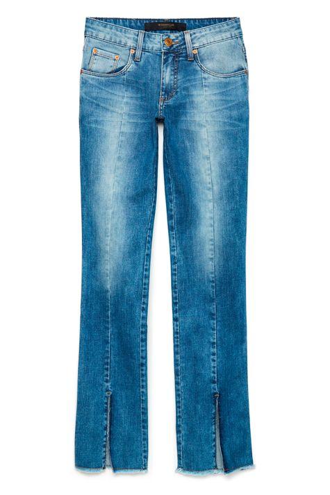 Calca-Jeans-Reta-com-Fenda-na-Barra-Frente--