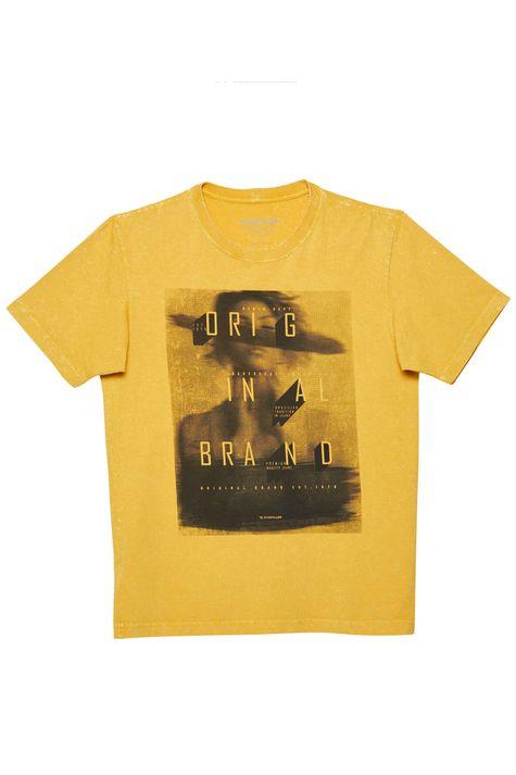 Camiseta-Tingida-Estampada-Masculina-Frente--